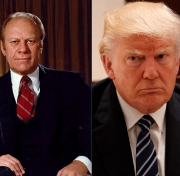 Gerald Ford And Donald Trump: President By the Numbers