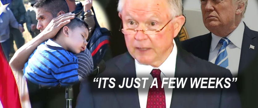 Jeff Sessions on Kids- Its Just A Few Weeks