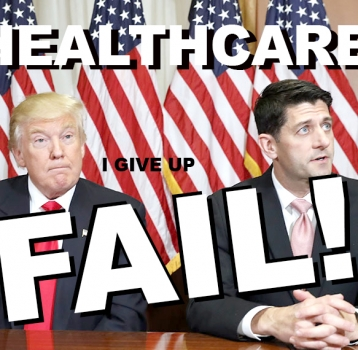 TRUMP'S HEALTHCARE FAILURE