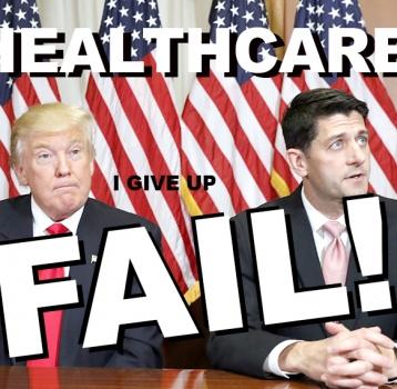 TRUMP'S HEALTHCARE FAILURE
