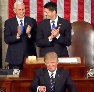 Mr. Trump's CONGRESSIONAL SPEECH